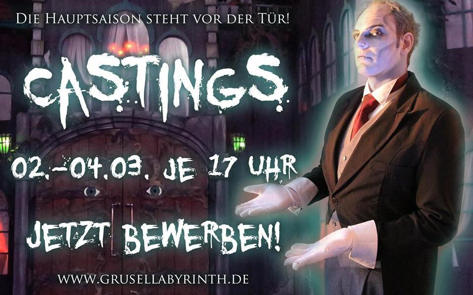 Grusellabyrinth Casting