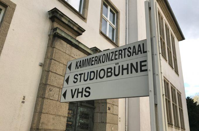 Kammerkonzertsaal Studiobühne VHS Kulturamt
