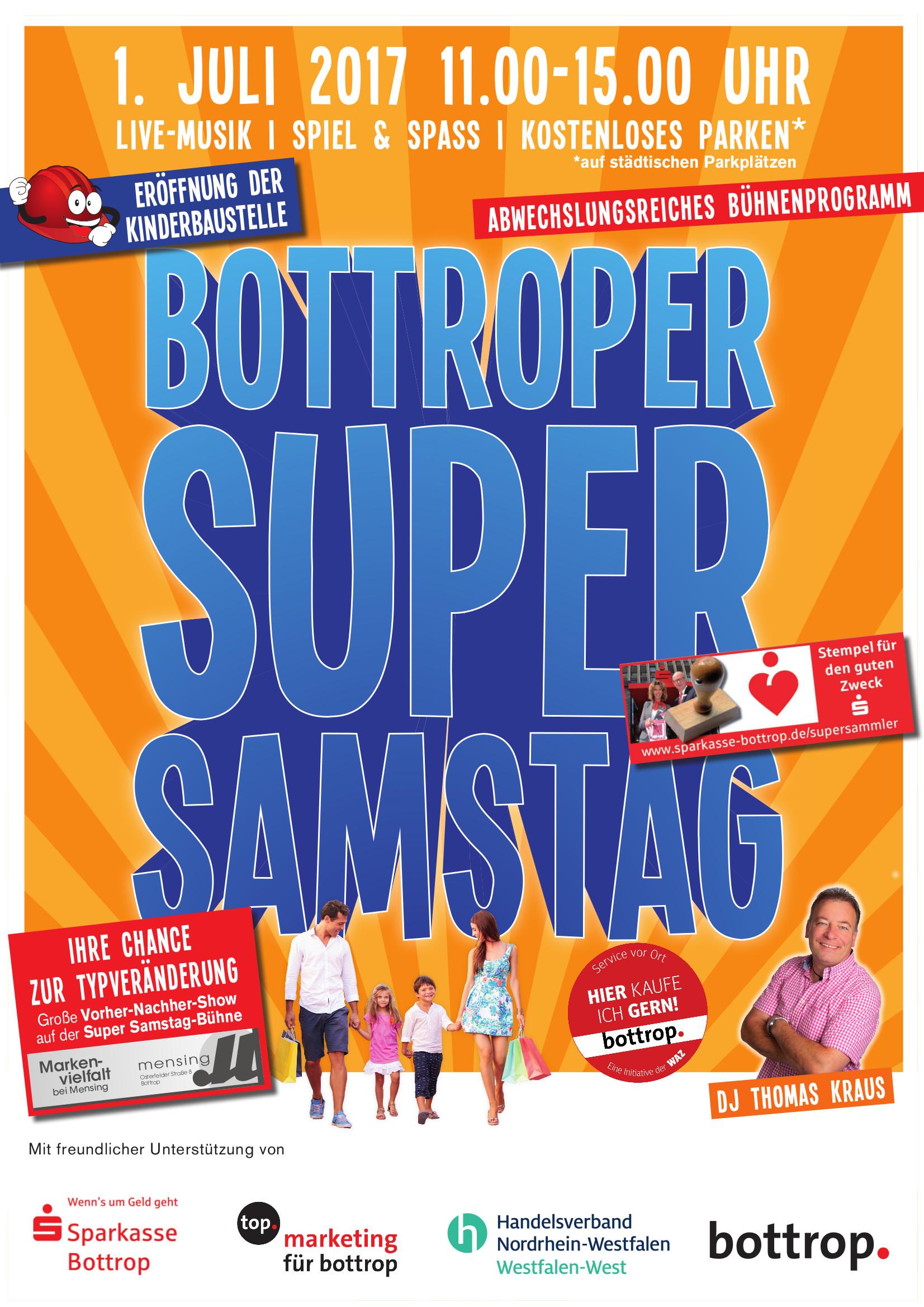 A2 Plakat SuperSamstag Juli 2017