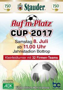 Plakat Aufm Platz Cup 2017