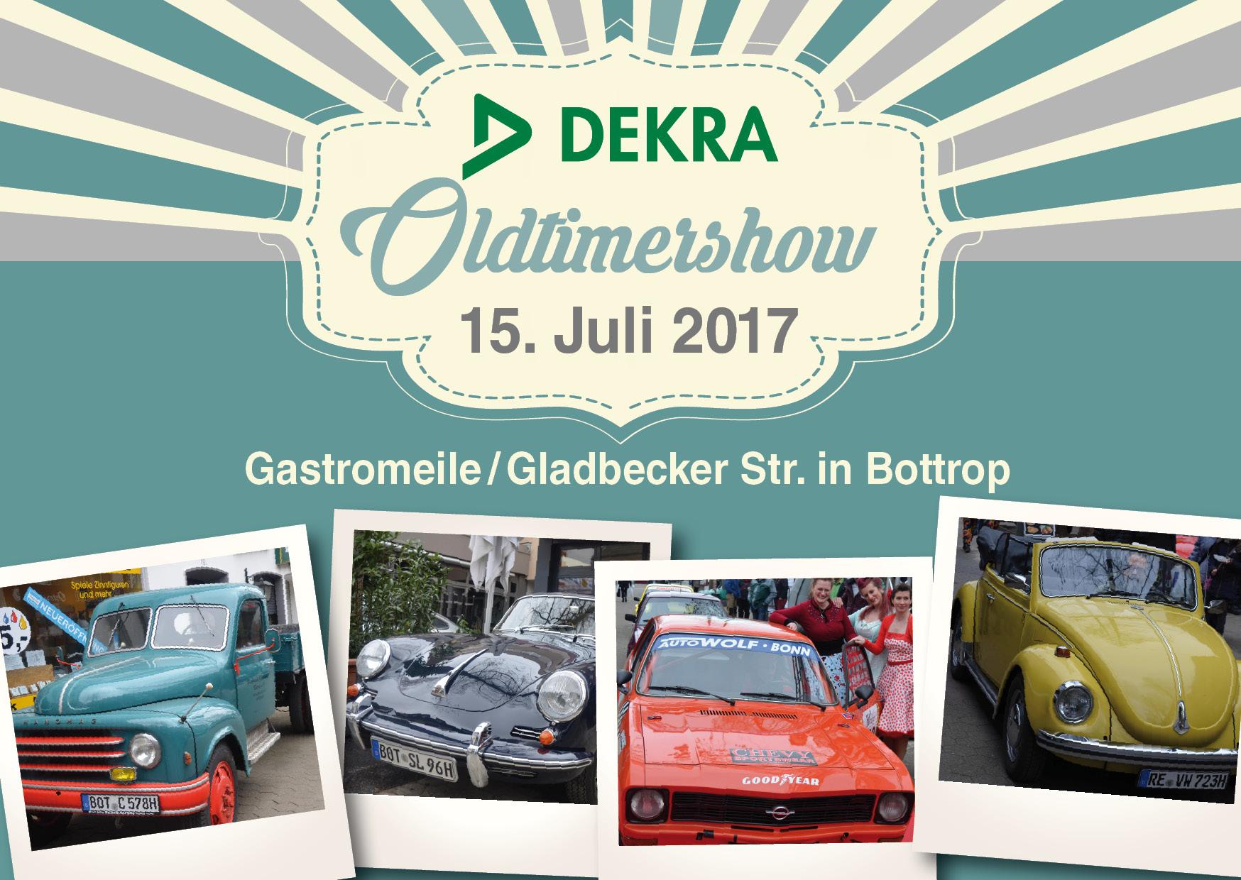 Postkarte Oldtimershow 2017