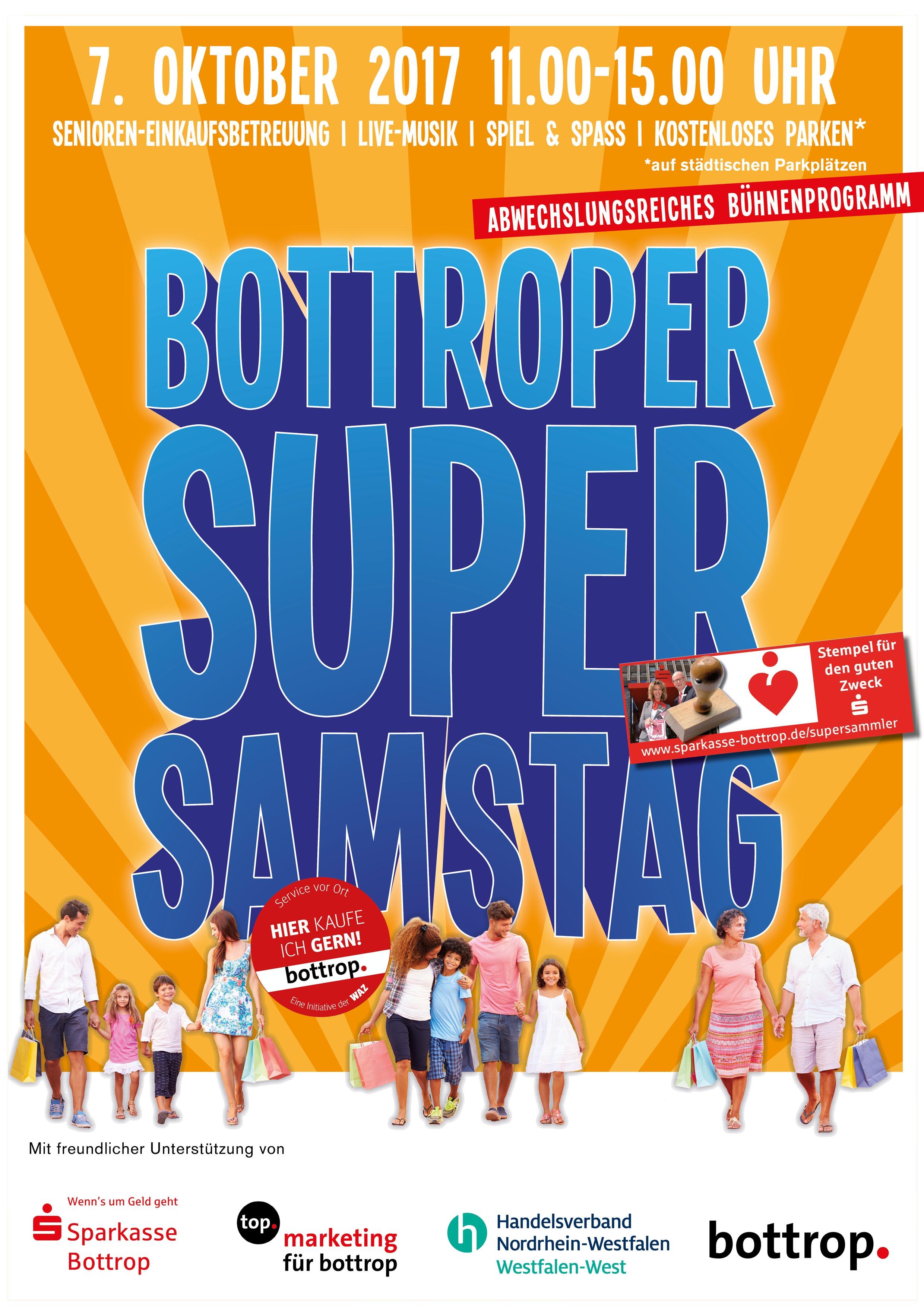 Plakat SuperSamstag Oktober 2017