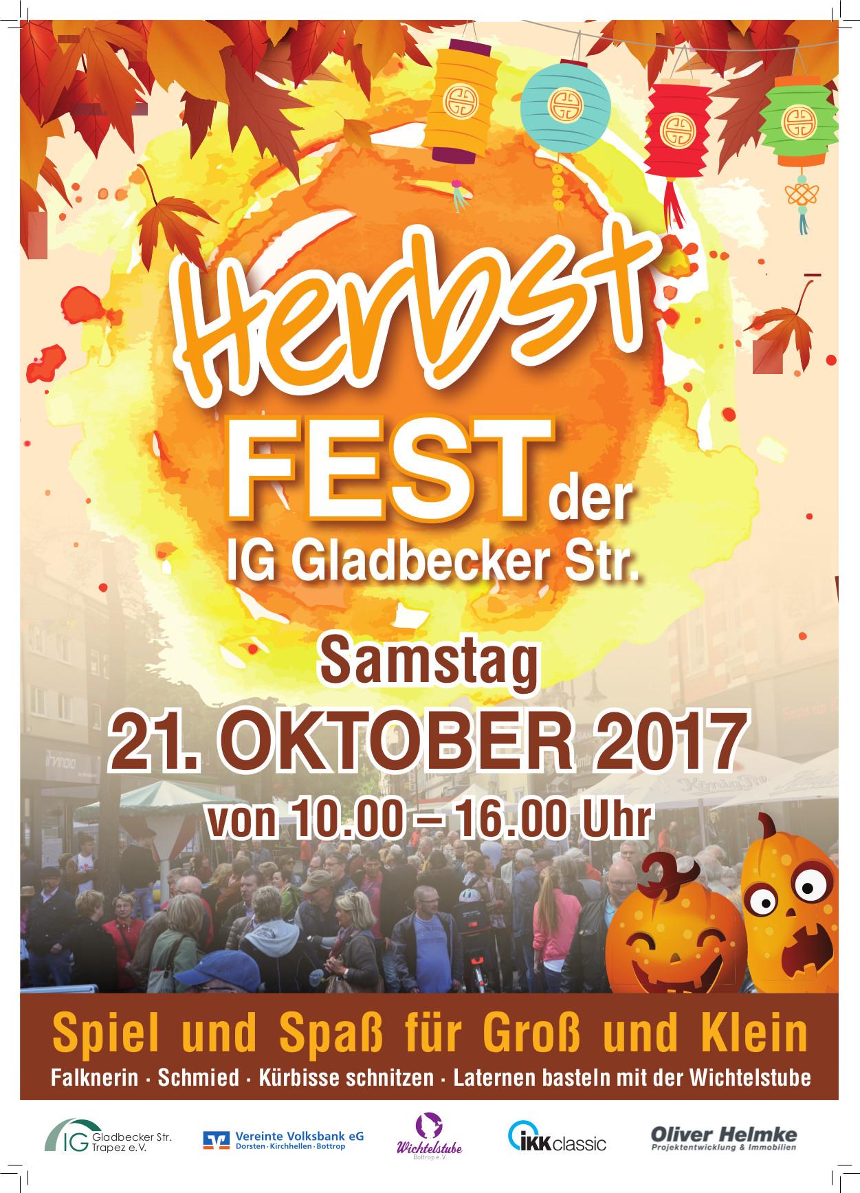 A3 Plakat Herbstfest IG 10_17