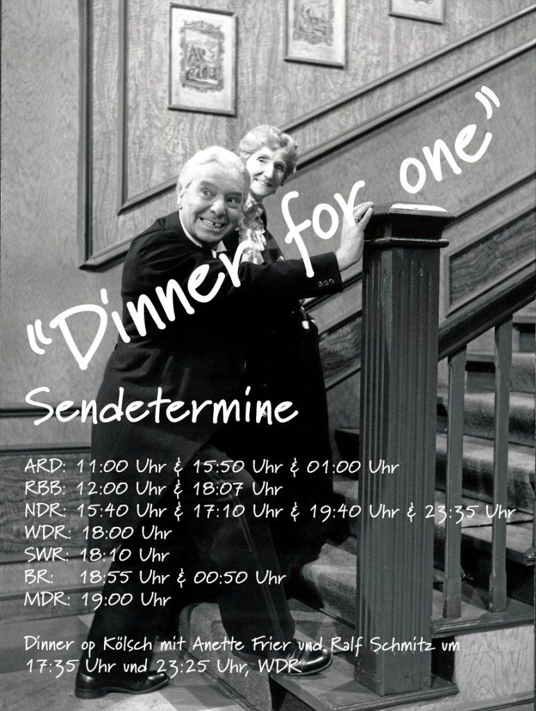 Dinner For One Einige Sendetermine Für Euch Wir Lieben Bottrop