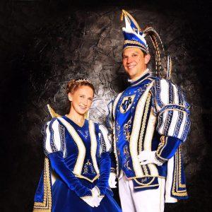 Michelle Dominique Lenk und Ralf Jörgens
