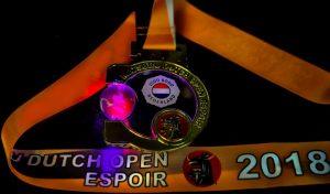 Medaillen Dutch Open
