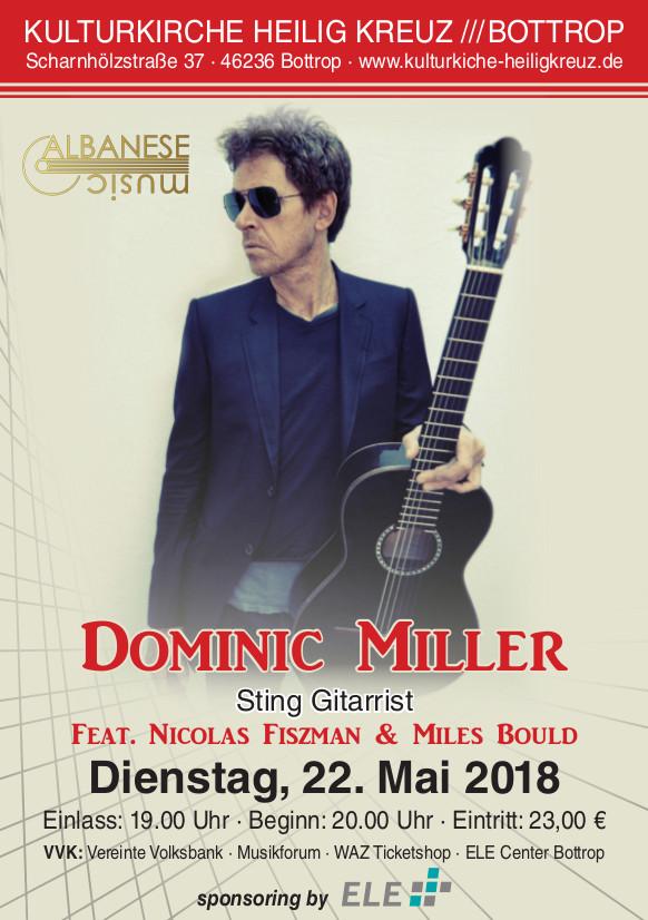 A5 Flyer Dominic Miller