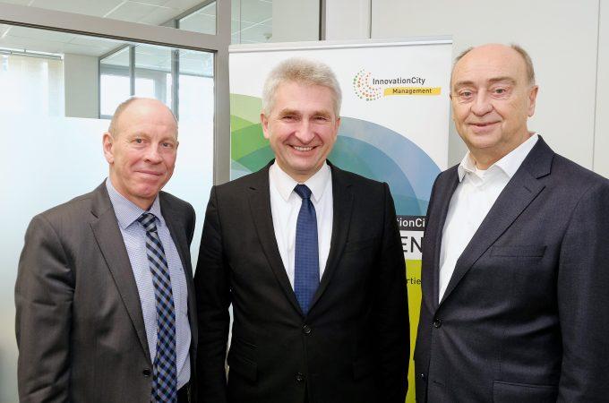 Minister Pinkwart InnovationCity