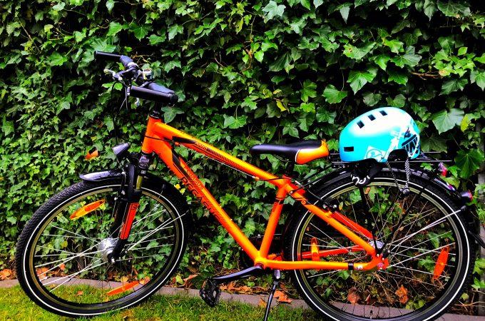 Fahrrad, Rad, Helm