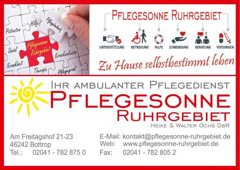 Pflegesonne Ruhrgebiet