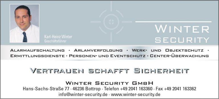Winter Security